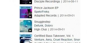 Glitch Hop TOP 5 Album - 09.08.14