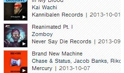 #1 Glitch Hop Albums - 10.10.13