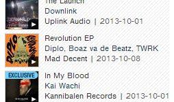 #1 Hip Hop Albums - 10.10.13