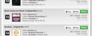 Track It Down TOP10 & 20 - 02.23.14